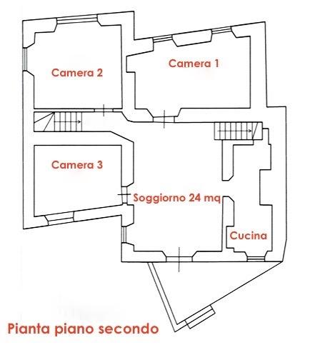 Planimetria 2/4 per rif. LOG-587