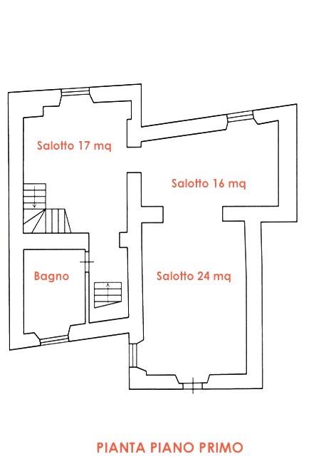 Planimetria 1/4 per rif. LOG-587