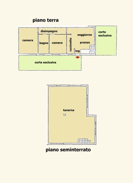 Appartamento in vendita, rif. 2508 (Planimetria 1/1)
