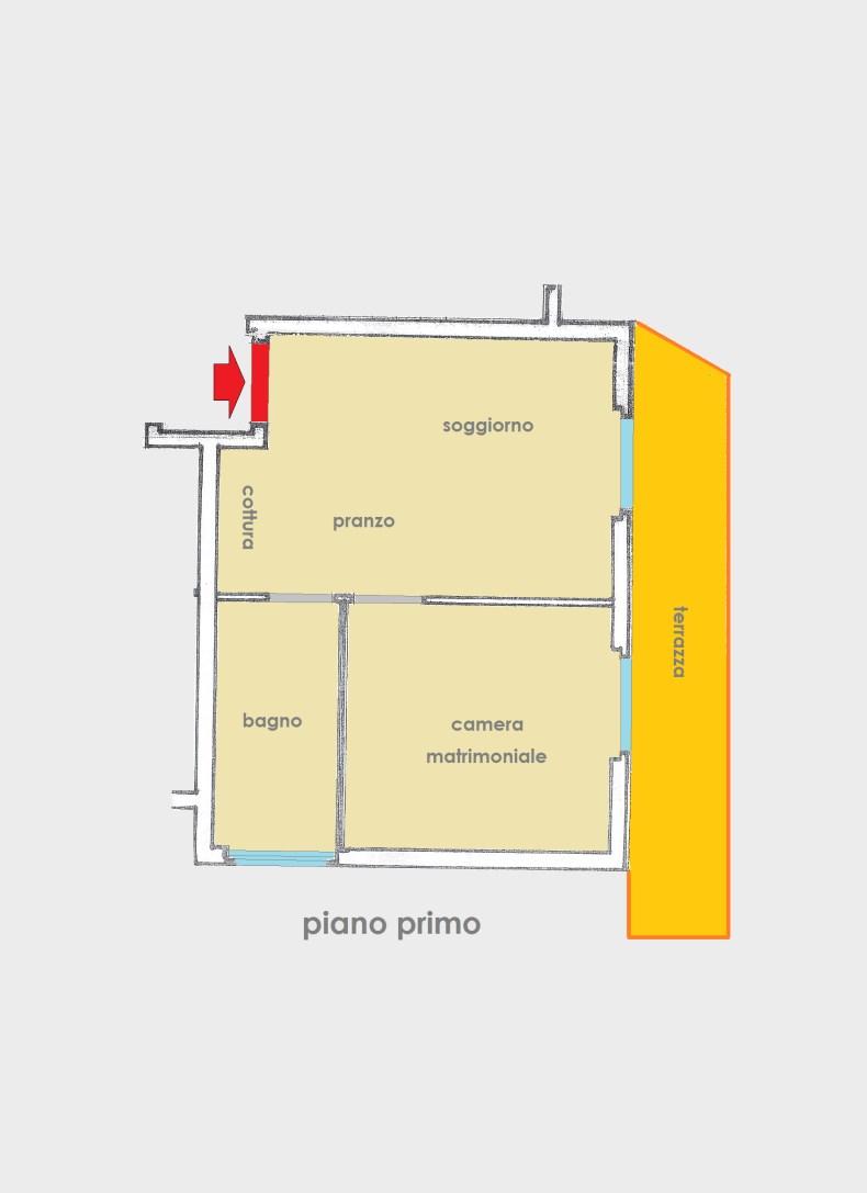 Planimetria 1/1 per rif. 2716