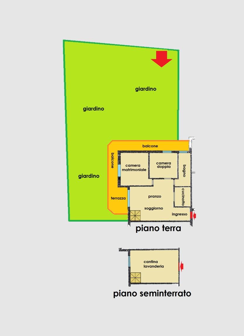 Planimetria 1/1 per rif. 2848