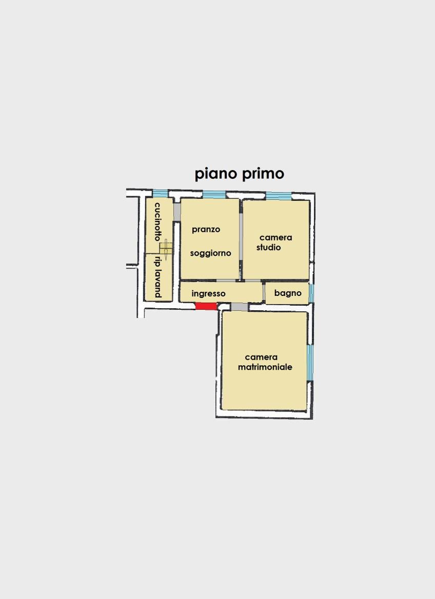 Planimetria 1/1 per rif. 2933