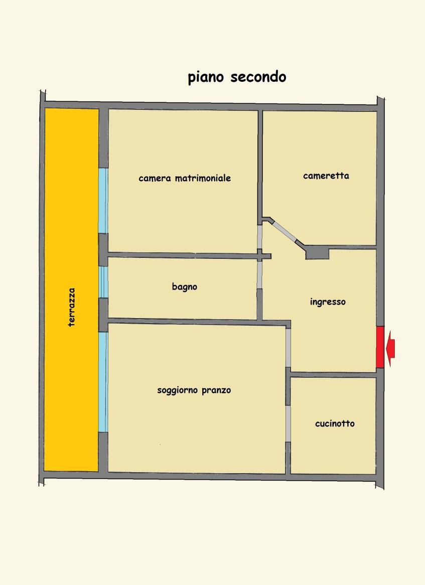 Planimetria 1/1 per rif. LOG-296