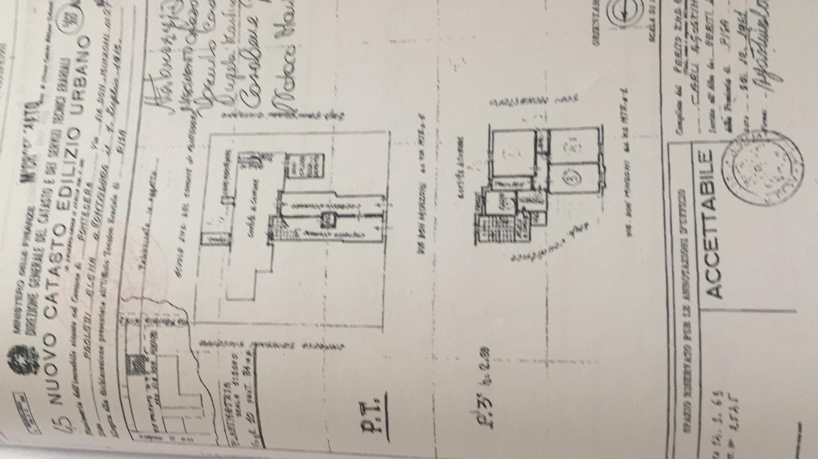 Planimetria 1/1 per rif. 719A