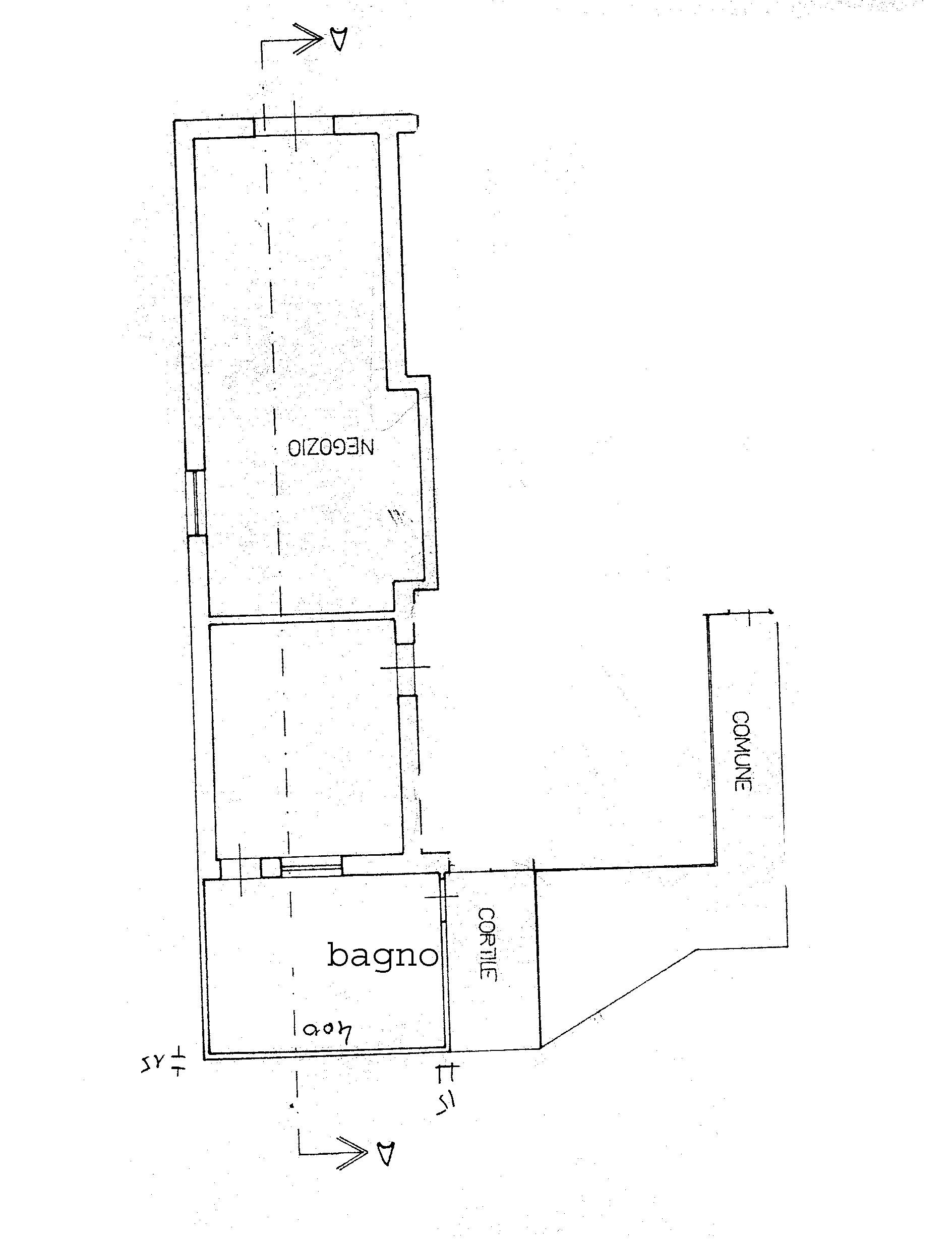 Planimetria 1/1 per rif. 729C
