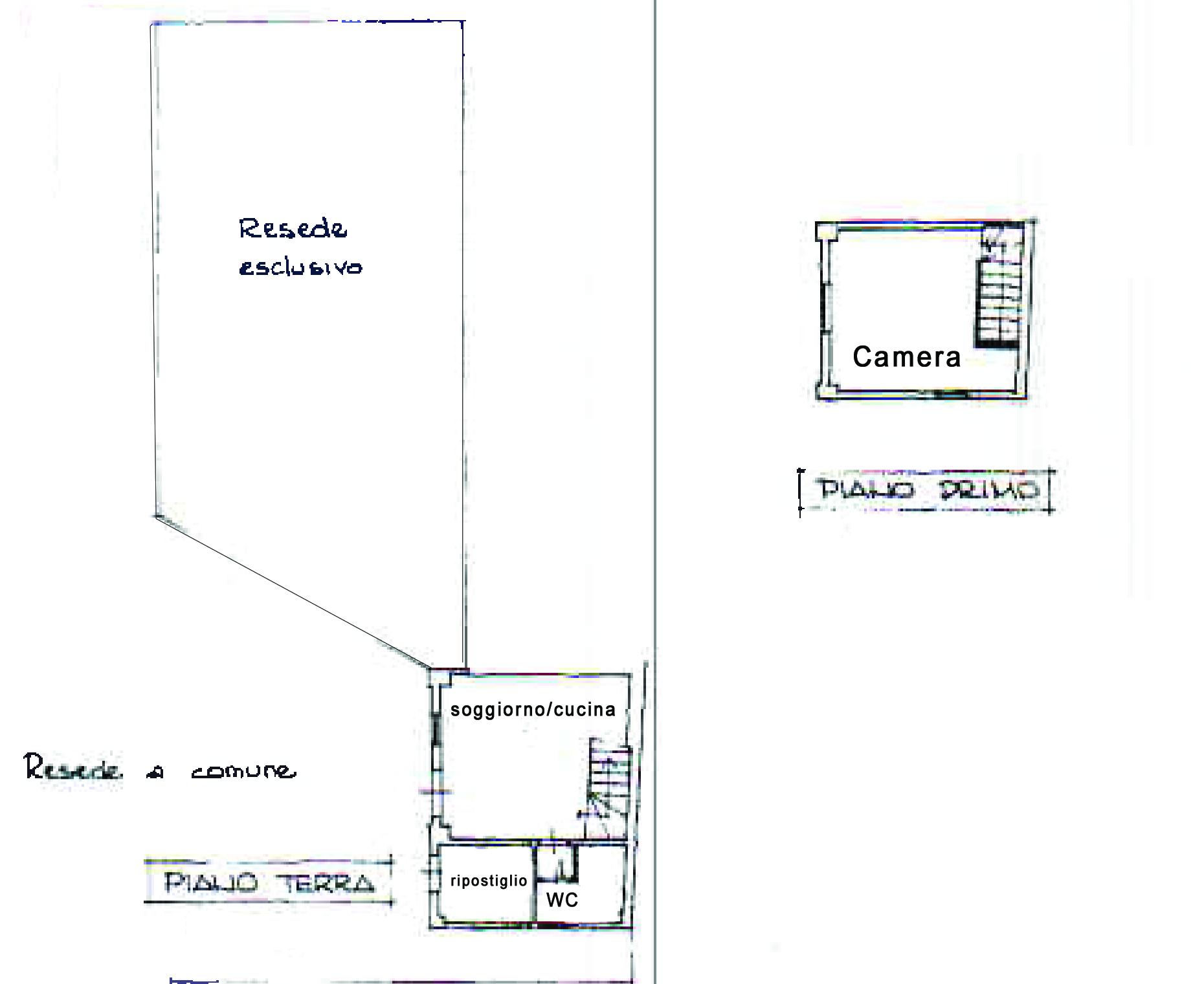 Planimetria 1/1 per rif. 861a