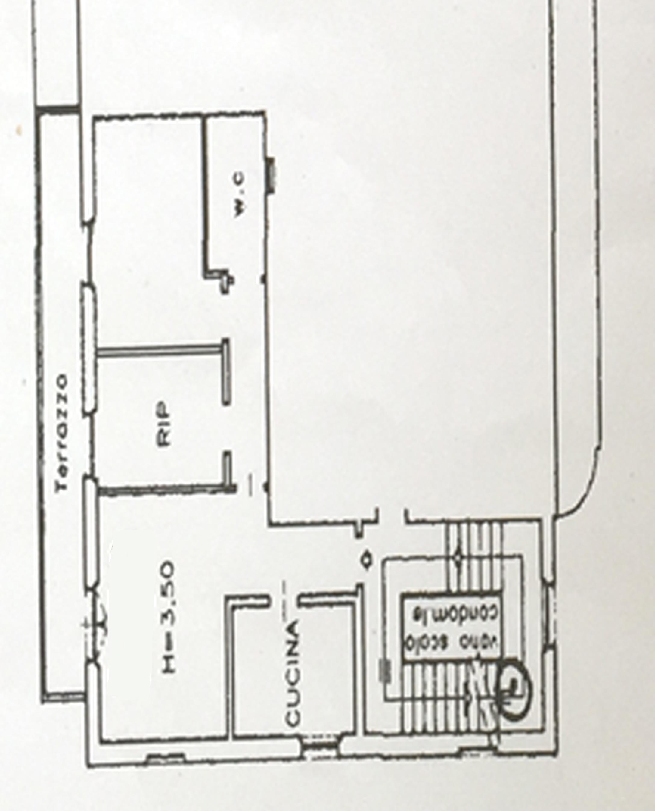 Planimetria 1/1 per rif. 688