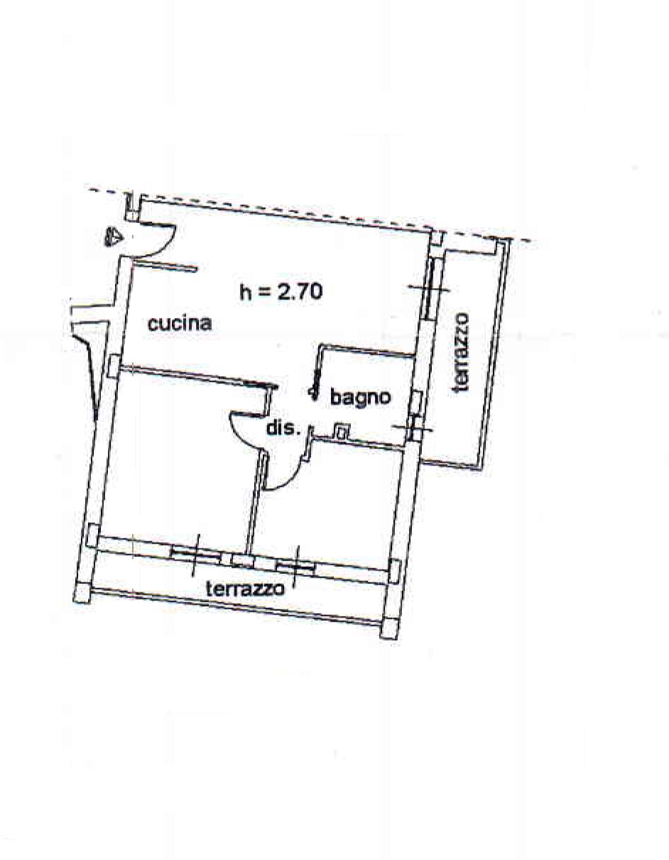 Planimetria 1/1 per rif. 921BB