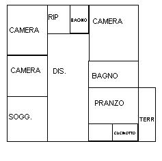 Planimetria 1/1 per rif. 890