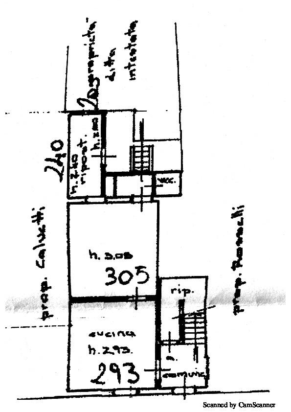 Planimetria 1/2 per rif. 973