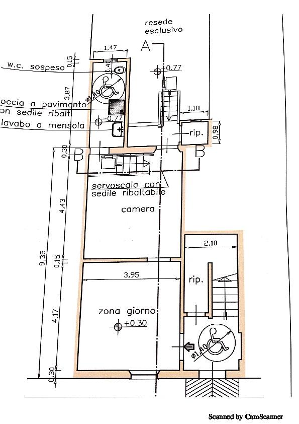 Planimetria 2/2 per rif. 973