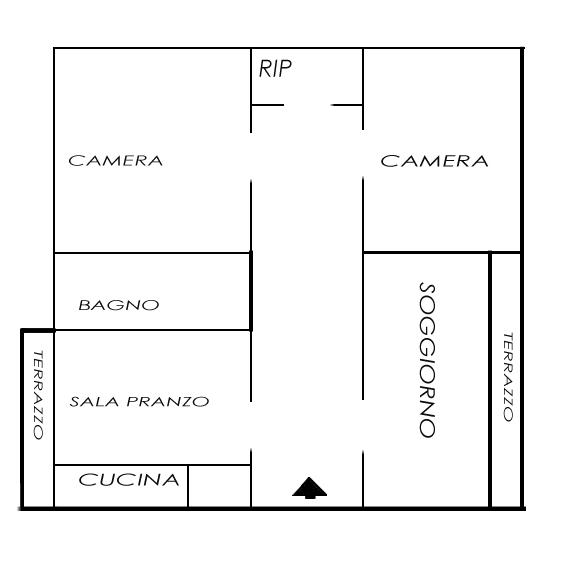 Planimetria 1/1 per rif. 858