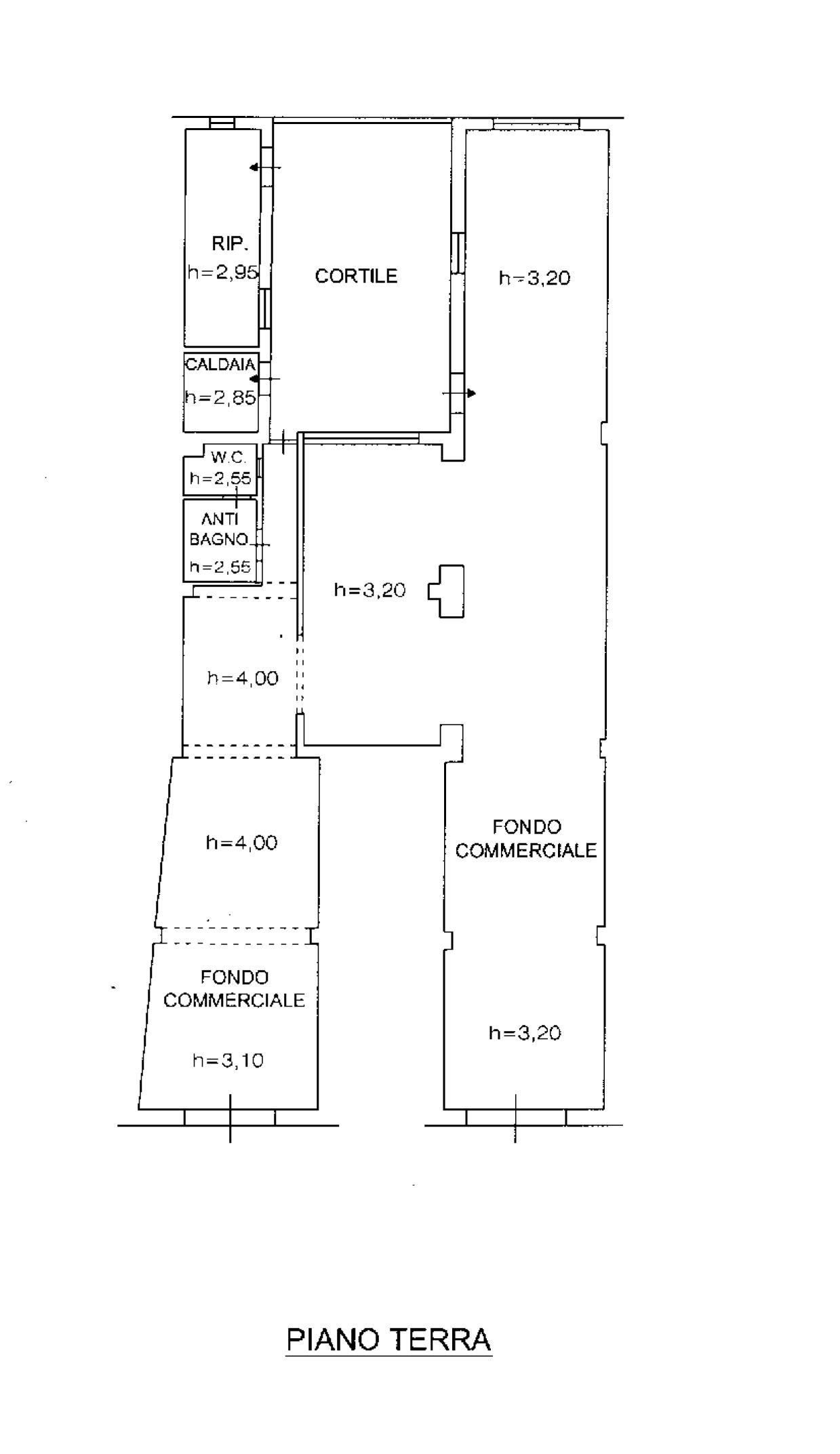 Planimetria 2/2 per rif. 118