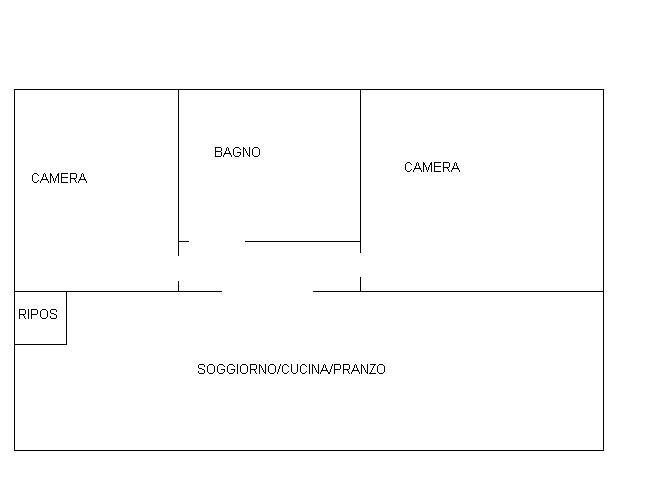Planimetria 1/1 per rif. 609