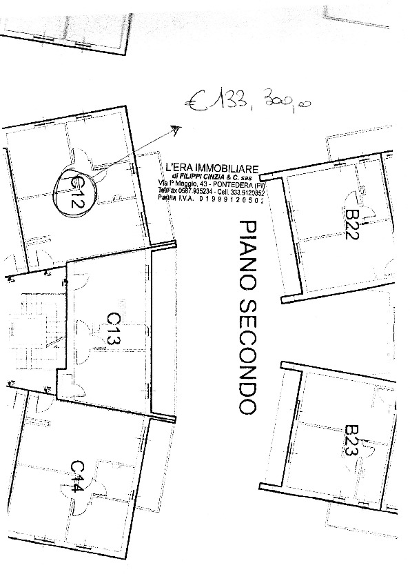 Planimetria 1/1 per rif. 991