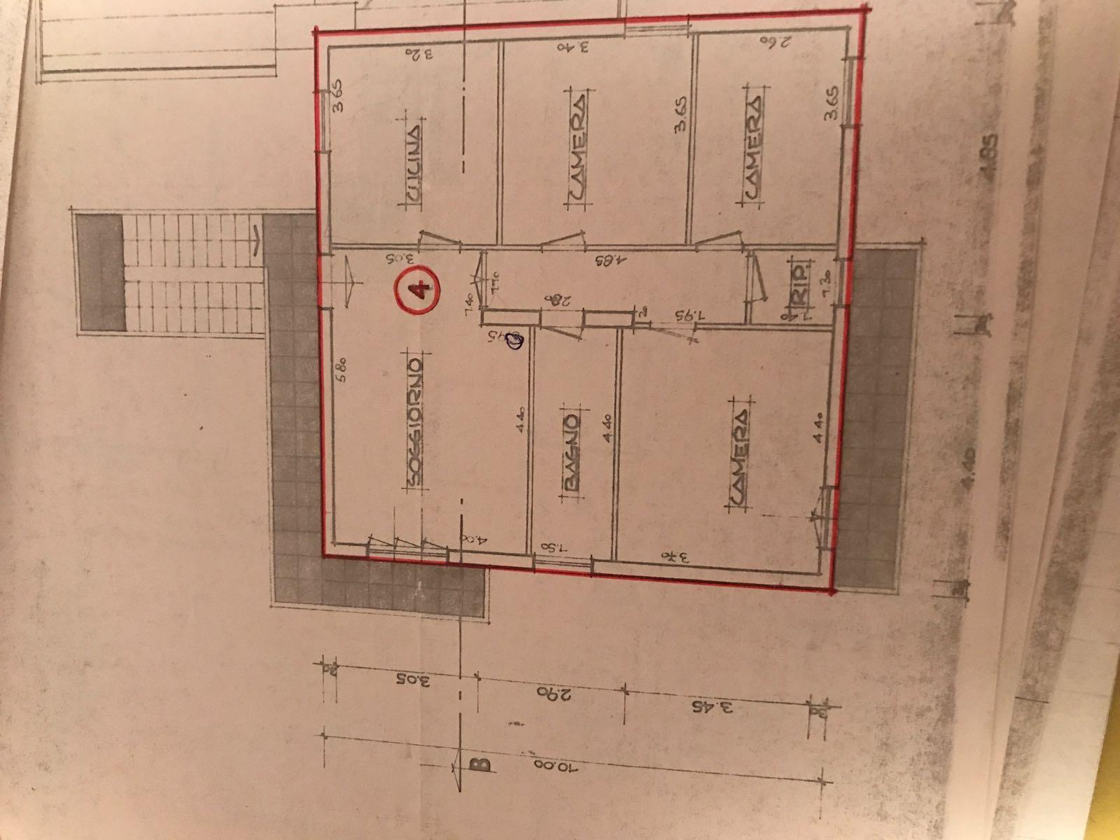 Planimetria 1/1 per rif. 1011