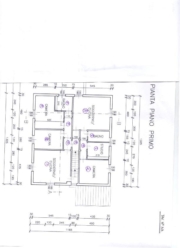 Planimetria 1/1 per rif. 1017a