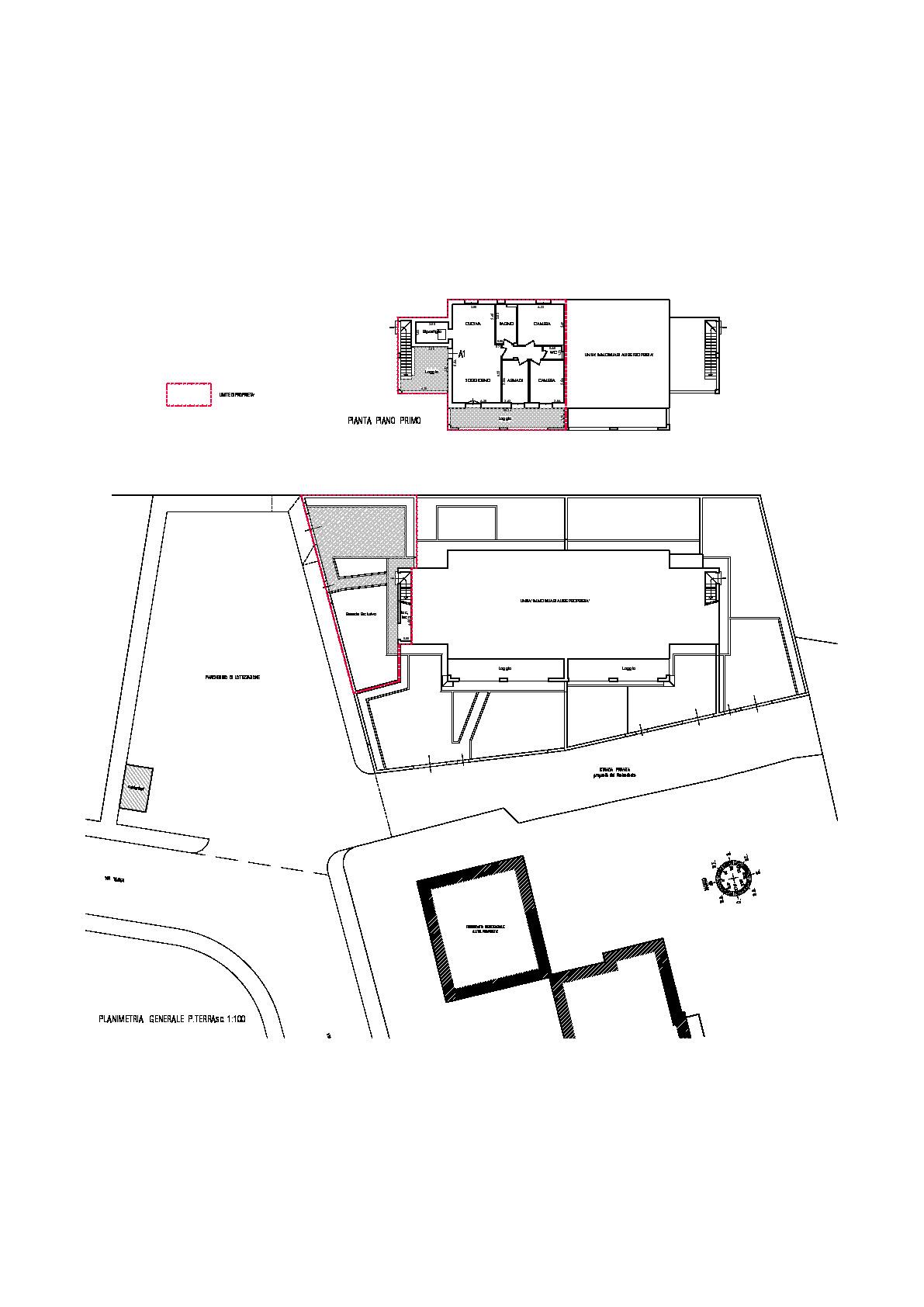 Planimetria 1/1 per rif. 1022