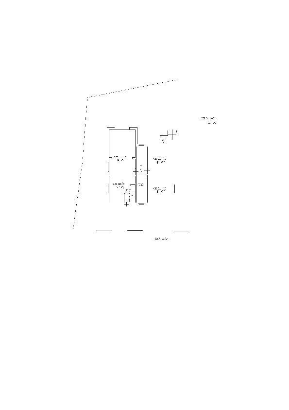 Planimetria 2/3 per rif. 1025