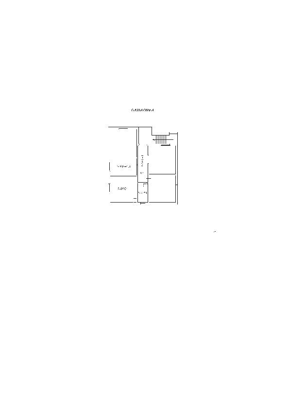 Planimetria 1/3 per rif. 1025