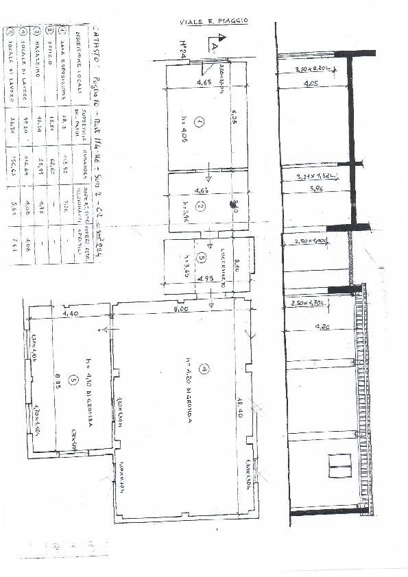 Planimetria 1/1 per rif. 1029c