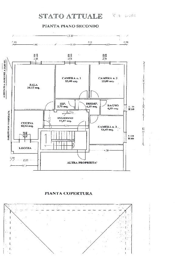 Planimetria 1/1 per rif. 1032