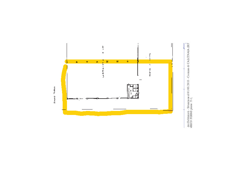 Planimetria 1/1 per rif. 1043c