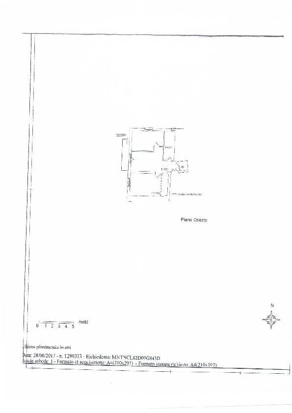 Planimetria 1/1 per rif. 1046