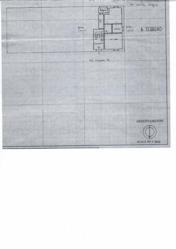 Planimetria 1/1 per rif. 1057