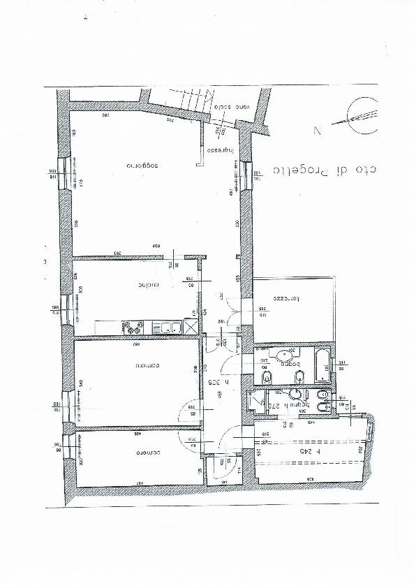 Planimetria 1/1 per rif. 1061