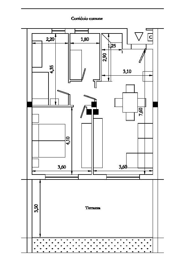 Planimetria 1/1 per rif. 1063
