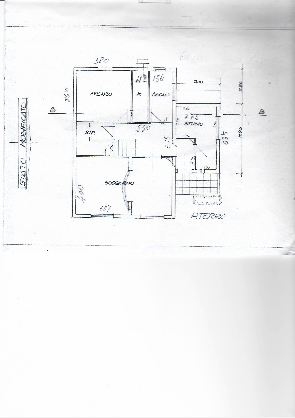 Planimetria 1/2 per rif. 1069