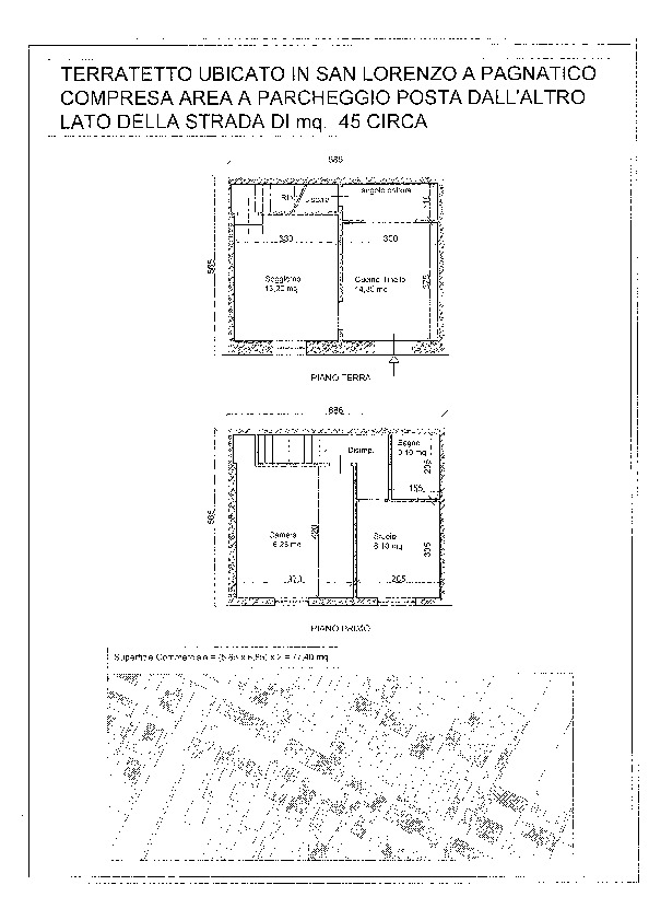 Planimetria 1/1 per rif. 1095a
