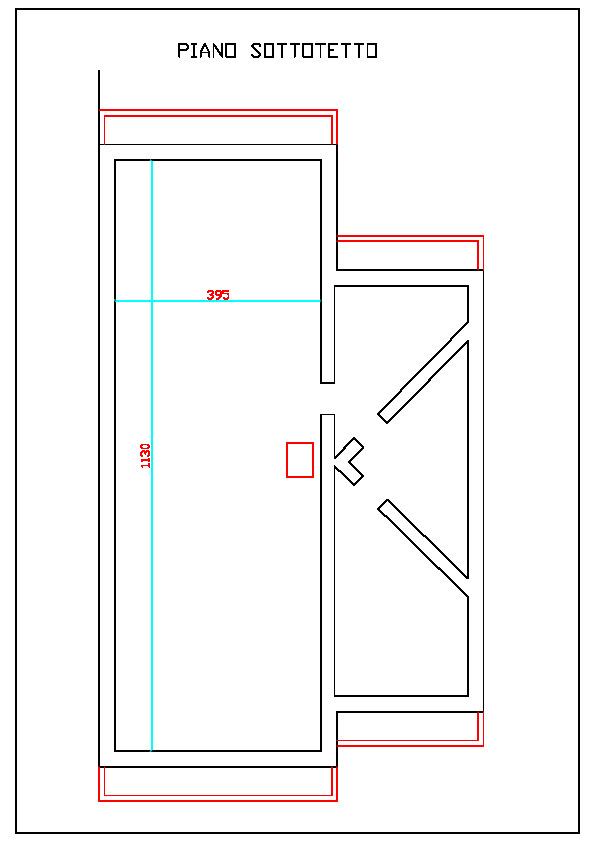 Planimetria 4/4 per rif. 1099
