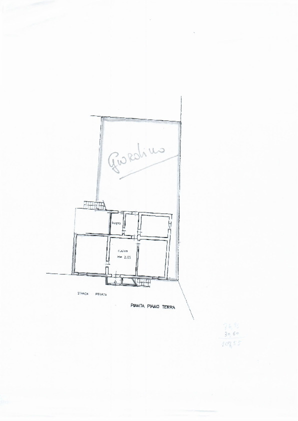 Planimetria 1/1 per rif. 1101