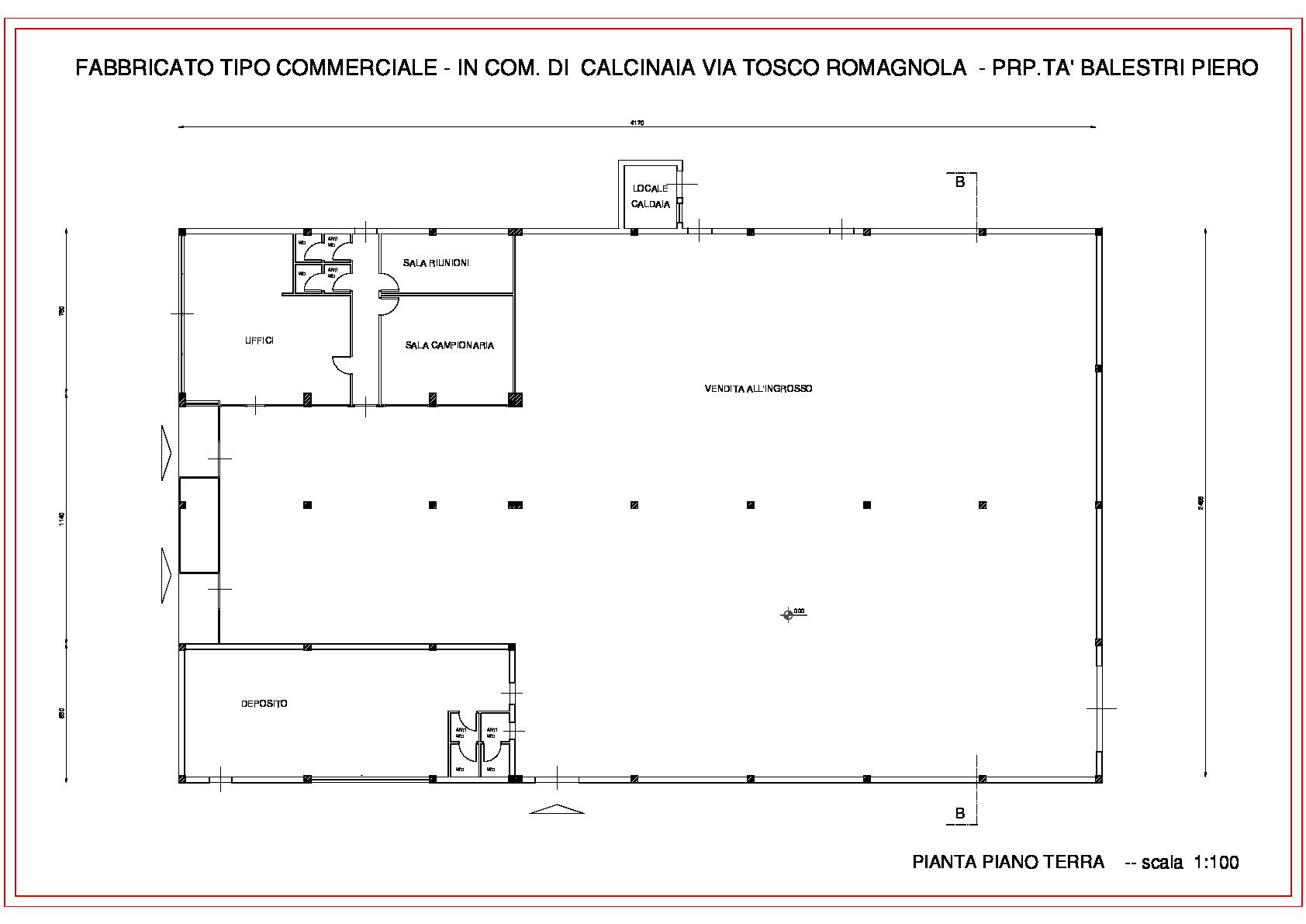 Planimetria 1/1 per rif. 1110c