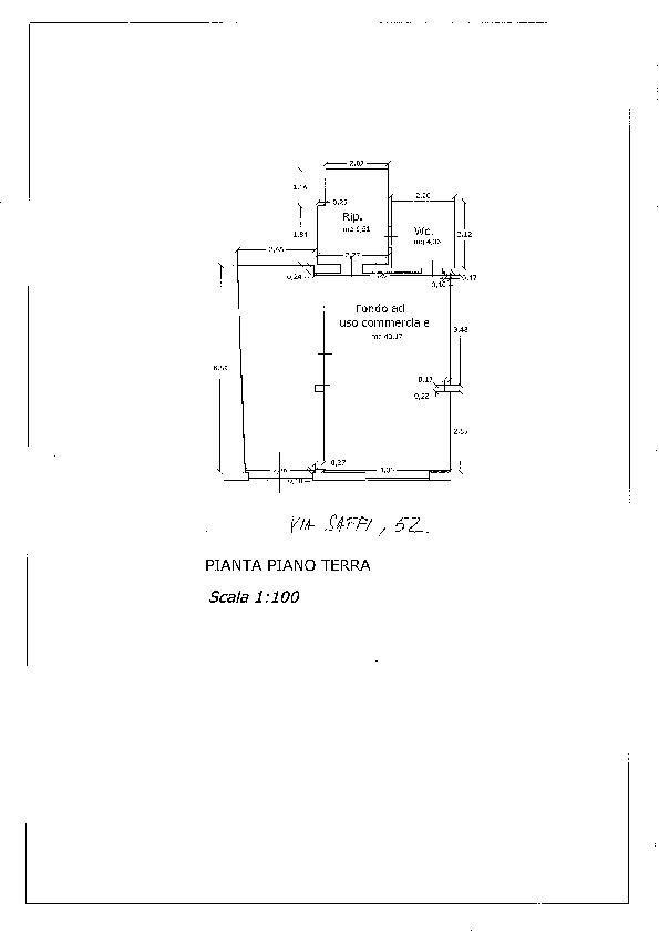 Planimetria 1/1 per rif. 1127c