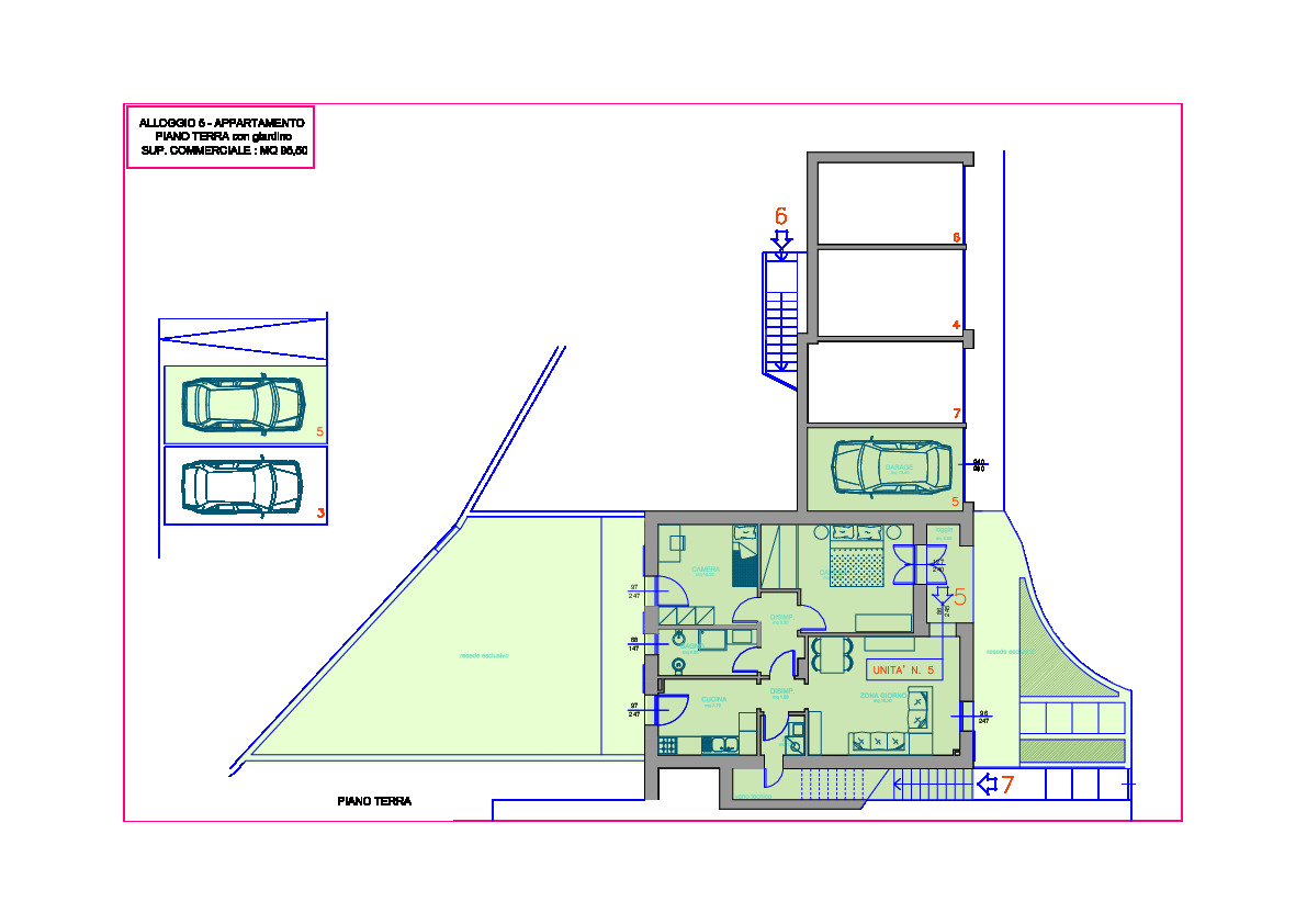 Planimetria 1/1 per rif. 1131