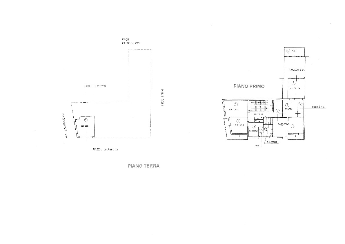 Planimetria 1/1 per rif. 458