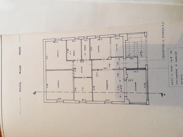 Planimetria 1/1 per rif. 217