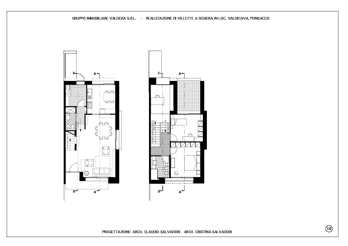 Planimetria 1/2 per rif. VIL-30