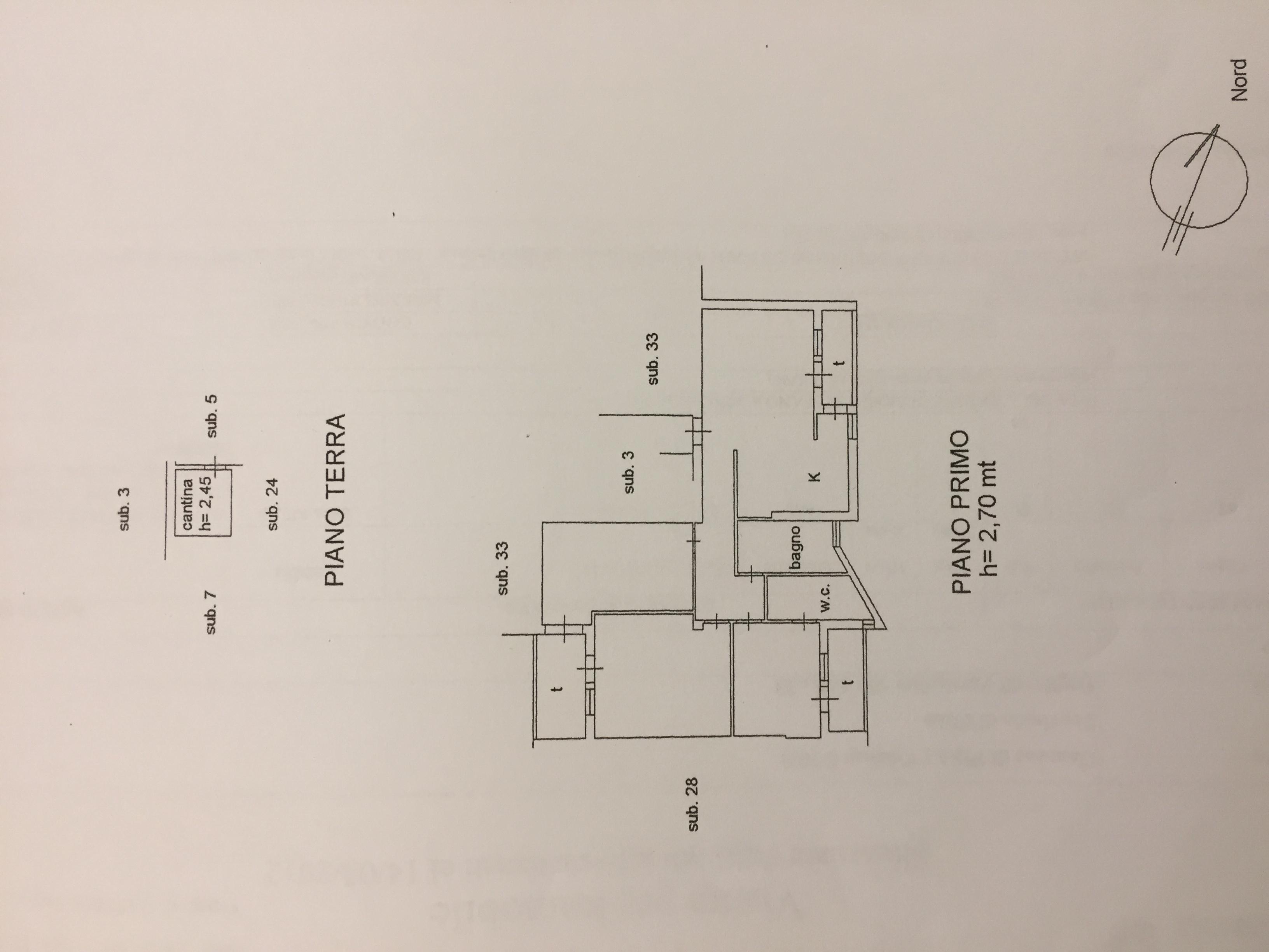 Planimetria 1/1 per rif. 348