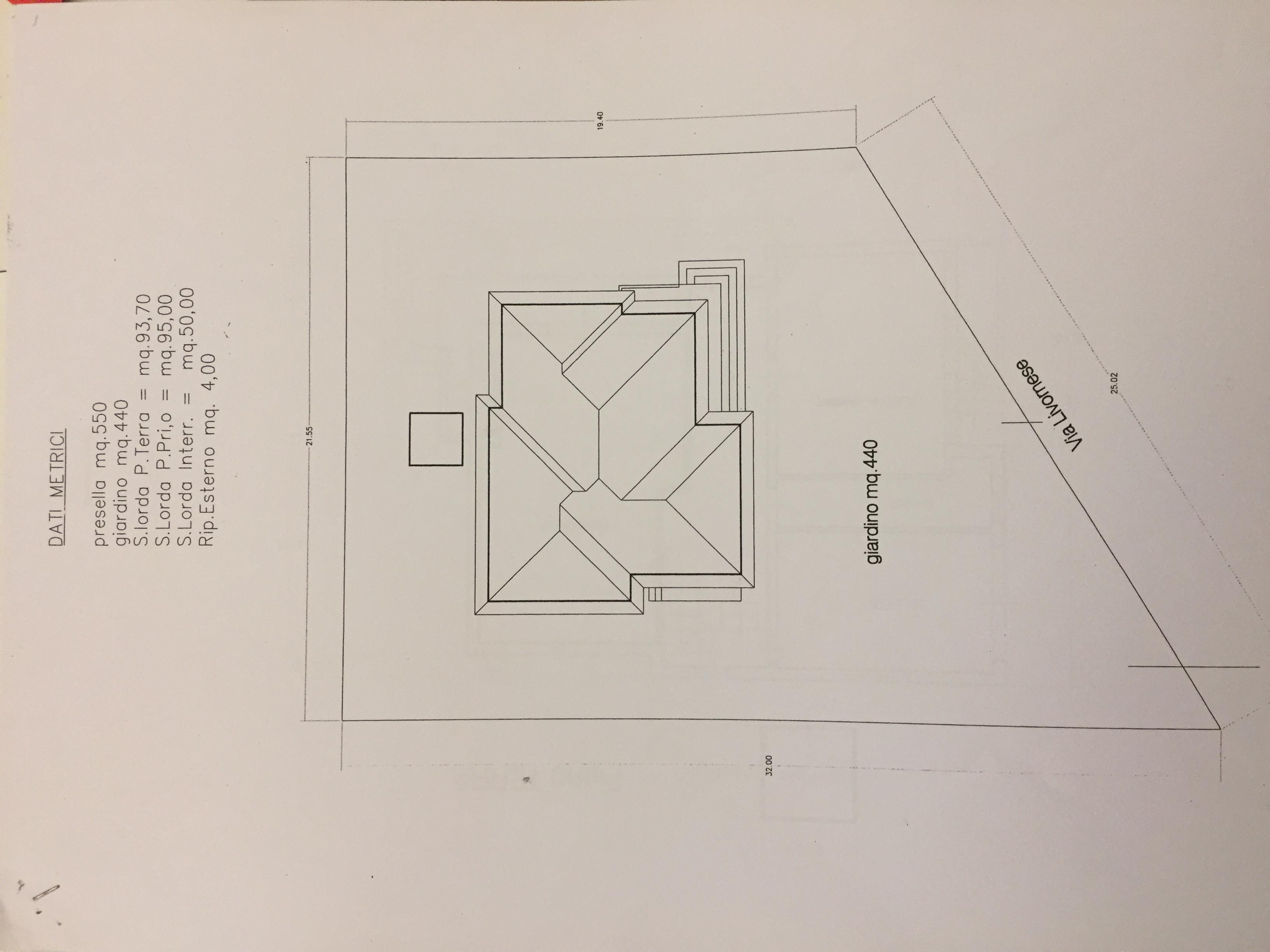 Planimetria 4/4 per rif. 390