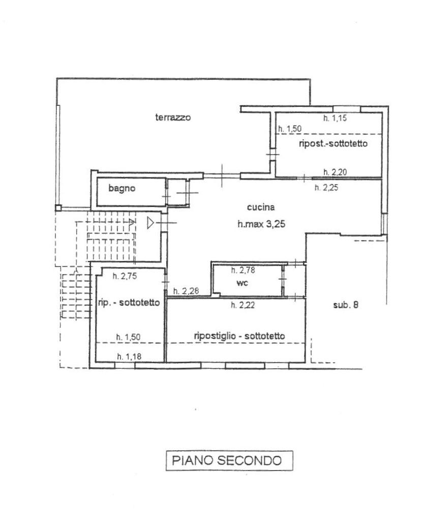 Planimetria 1/1 per rif. 414