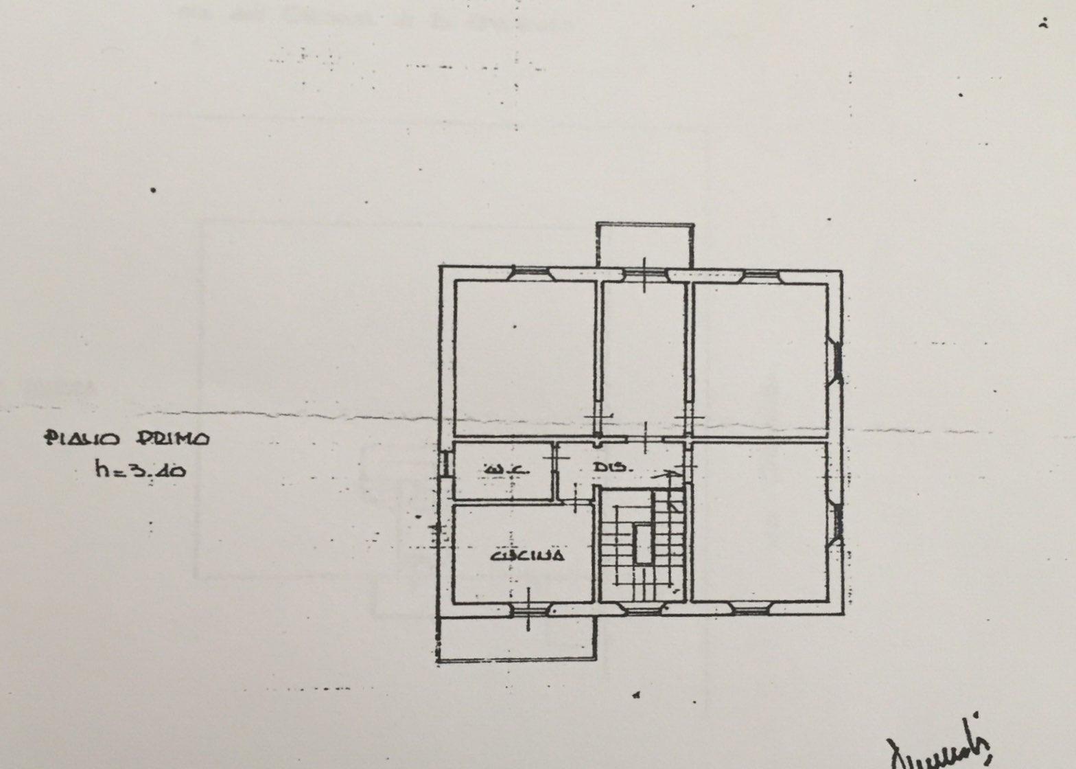 Planimetria 1/1 per rif. 465