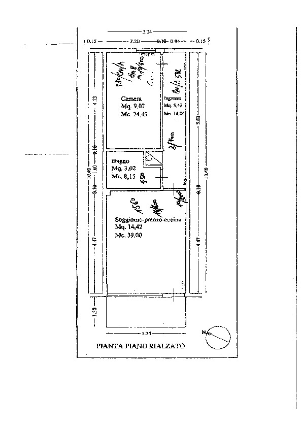 Planimetria 1/1 per rif. 641