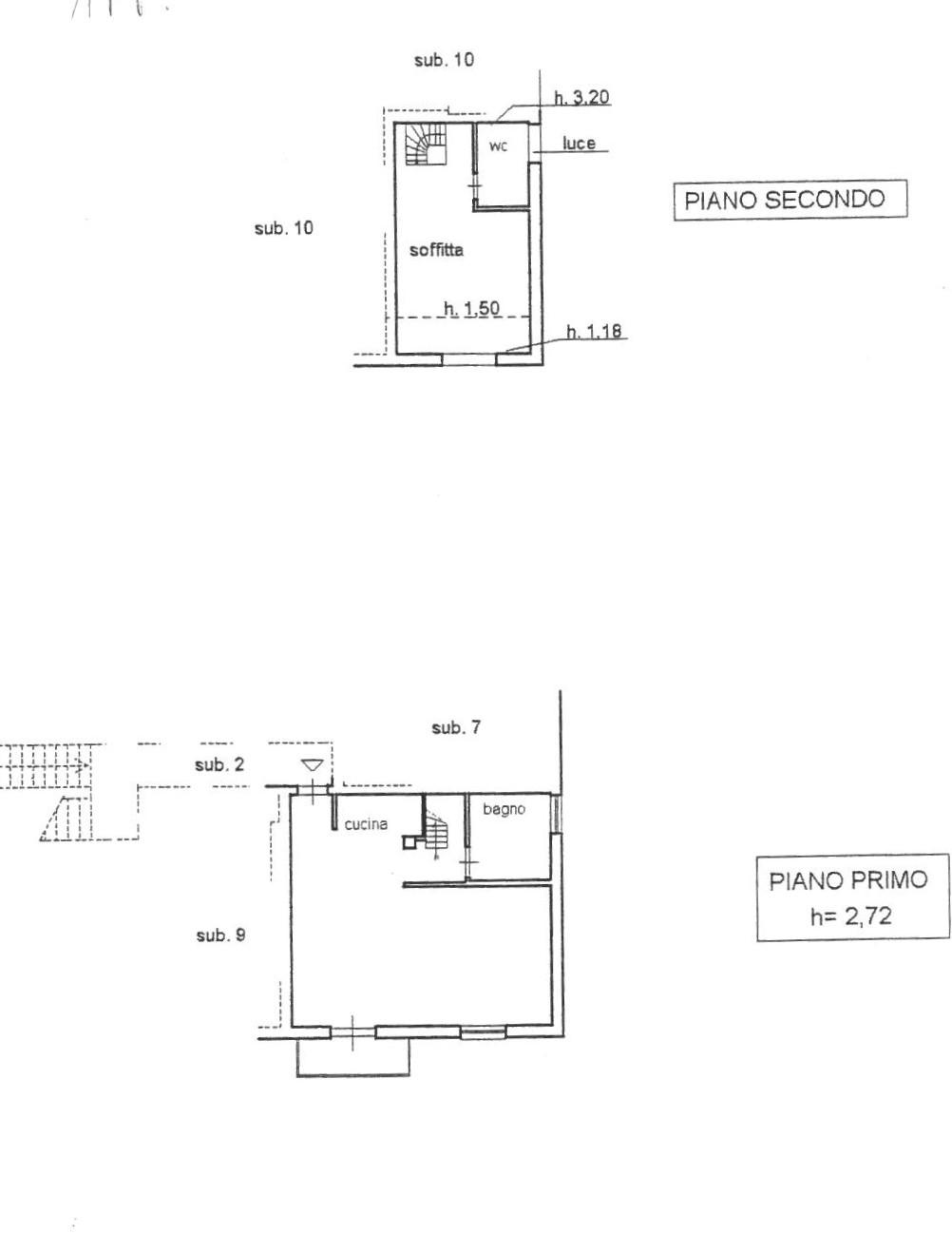 Planimetria 1/1 per rif. 647