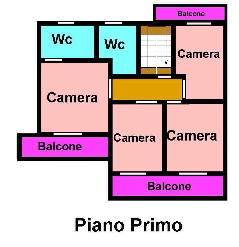 Planimetria 2/3 per rif. 659
