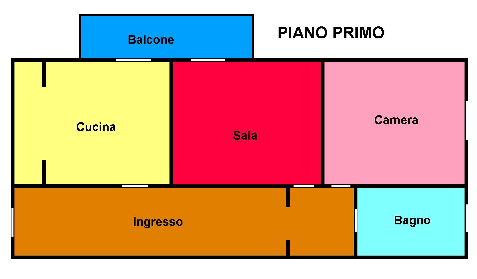 Planimetria 1/1 per rif. 214