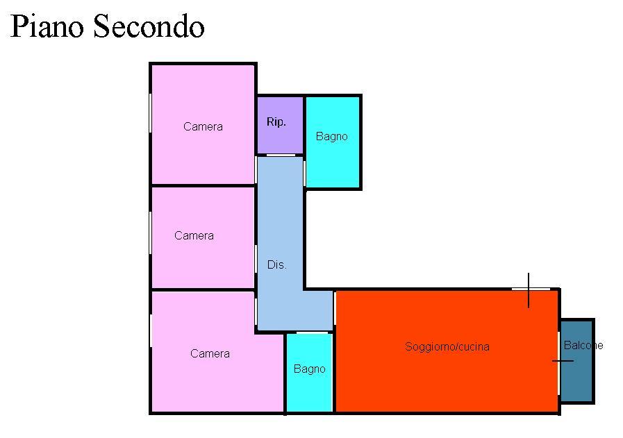 Planimetria 1/1 per rif. 500